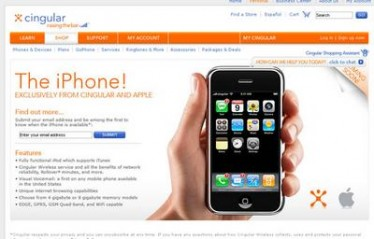 Apple iPhone e Cingular