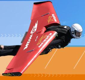JetMan: Yves Rossy e il vero Jet-pack