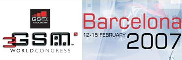 3GSM 2007 World Congress Barcellona inizia!