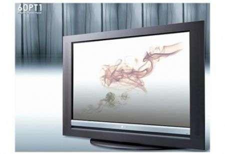 LG Wood Frame: Legno e Plasma