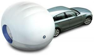 BMW Air Camper: un caravan gonfiabile!