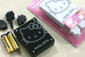 Hello Kitty: carica il cellulare con lo zucchero