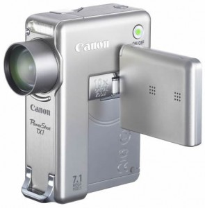 Canon PowerShot TX1: panetto