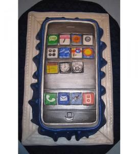iPhone Cake: ecco la torta