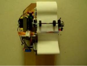 Rotolo carta igienica automatico di Lego!