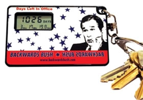 Bush Countdown Clock