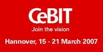 CeBIT 2007 Hannover 15-18 Marzo