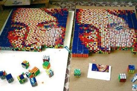 RubikCubism: l'arte cubica