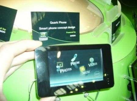 Quark phone nVidia