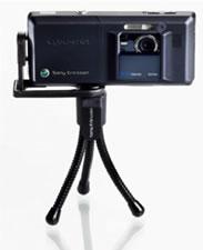 Cebit 2007: Sony Ericsson IPK-100 tripode