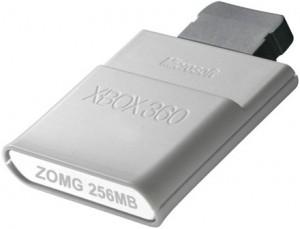 xBox 360: Memoria 512Mb