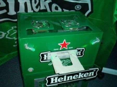 Heineken Pc: il computer più alcolico