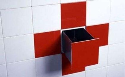 Casa del futuro: piastrelle funzionali in bagno