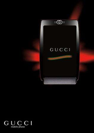 Gucci Phone? Clamorosa bufala