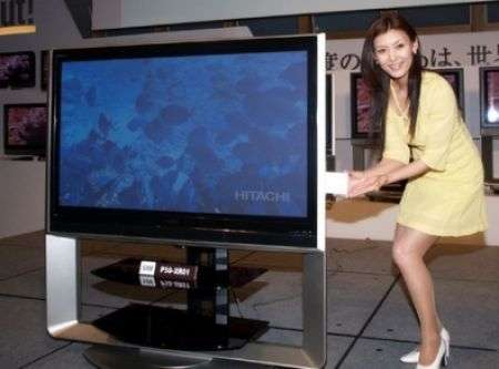 Hitachi Wooo, HDTV con HHD estraibile