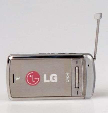 Lg Shine con il digitale terrestre DMB
