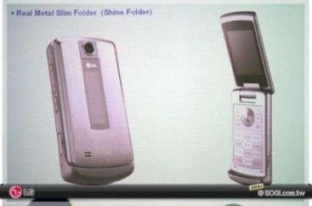 Lg Shine oro e Lg Shine Folder