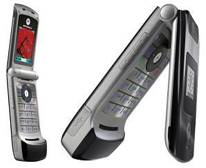 Motorola W395: Razr style