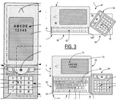 nokia n99 patent qwerty keyboard and numerical keypad