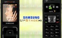 Samsung UpStage = Samsung F300