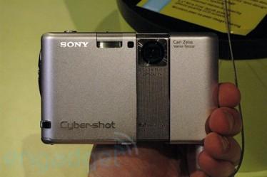 Sony Cyber-shot DSC-G1 con Wi-Fi e 2Gb