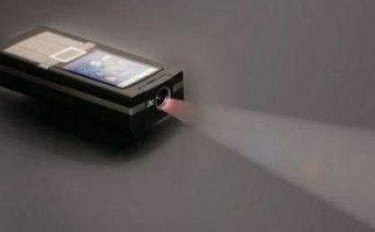 TI Pico Texas Instruments: proiettore per cellulari
