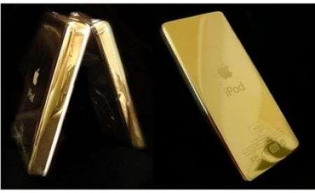 Apple iPod a 24 carati