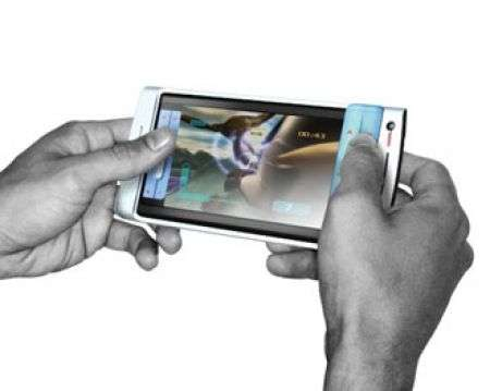 BenQ concept phone con Touchscreen