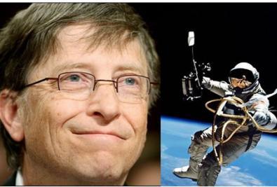 Bill Gates nello spazio