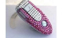 Blinged Obsession: Motorola diamantato