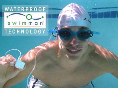 Ipod Shuffle impermeabile con Swimman