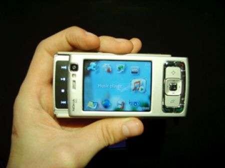 Pubblicità Nokia N95 a Londra