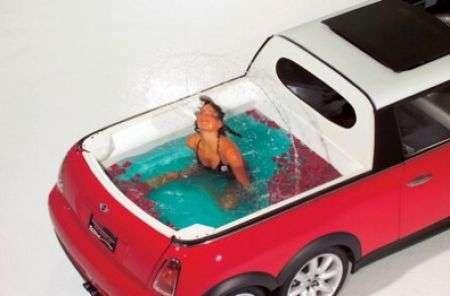 Limousine Mini con piscina!