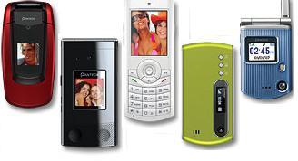 Pantech linea GSM 2007