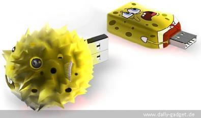 Spongebob USB si gonfia quando piena!