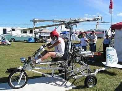 Super Sky Cycle, motocicletta volante