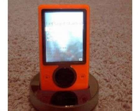 Microsoft Zune Orange