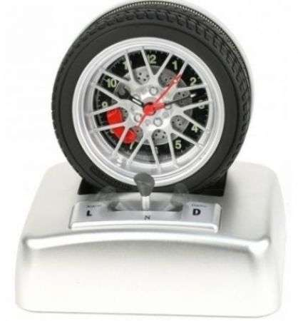 Car Wheel Alarm Clock: sveglia per piloti!