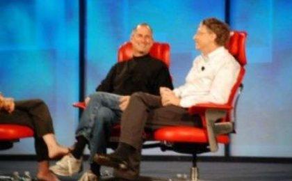 D 2007: incontro tra Bill Gates e Steve Jobs video e foto