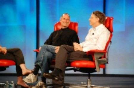 D 2007: incontro tra Bill Gates e Steve Jobs video e foto