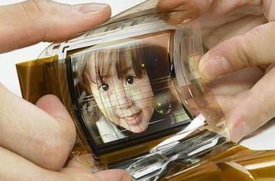 Sony schermi Oled flessibili