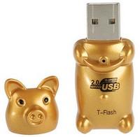 Maiale dorato USB