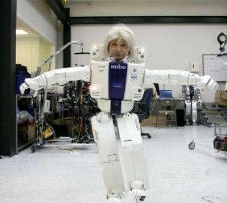 KAIST 'Albert Hubo' il Robot Einstein