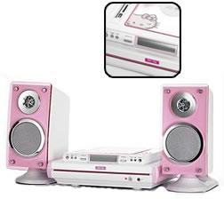 Hello Kitty USB MP3/CD Stereo system