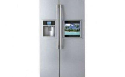 LG Panorama LSC27990 frigo con HDTV!