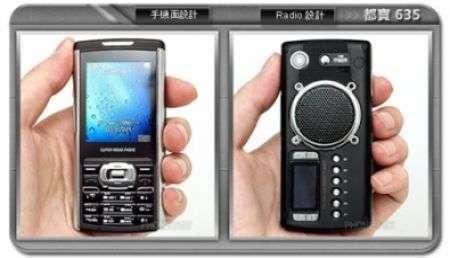 Du 635 il cellulare con super radio