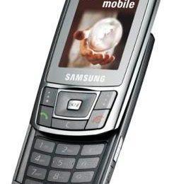 Samsung D900i il nuovo slider