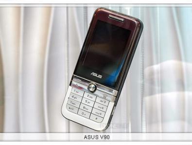 Asus V90: candybar lucido