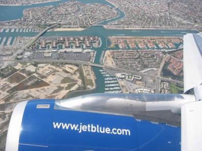 JetBlue offre Google Maps in volo
