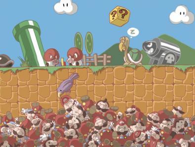 Dove va Super Mario quando muore?